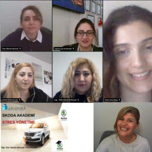 Skoda'da Stres Yönetimi eğitimi (05-04-2021)