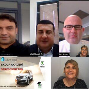 Skoda'da Stres Yönetimi eğitimi (07-04-2021)