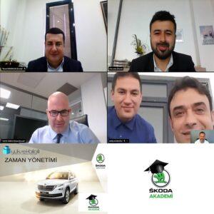 Skoda'da Zaman Yönetimi eğitimi (08-04-2021)