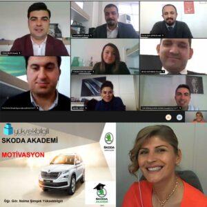 Skoda'da Motivasyon eğitimi (13-04-2021)
