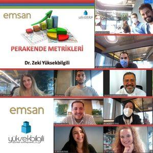 EMSAN'da Perakende Metrikleri eğitimi (31-05-2021)