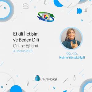 Karabük TSO'nda Etkili İletişim ve Beden Dili Eğitimi (03.06.2021)