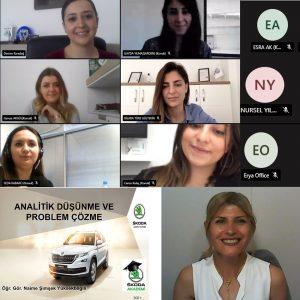 Skoda'da Analitik Düşünme ve Problem Çözme eğitimi (08-06-2021)