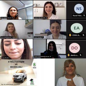 Skoda'da Etkili İletişim ve Beden Dili eğitimi (07-06-2021)