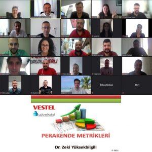 Vestel'de Perakende Metrikleri eğitimi (01-02.06.2021)