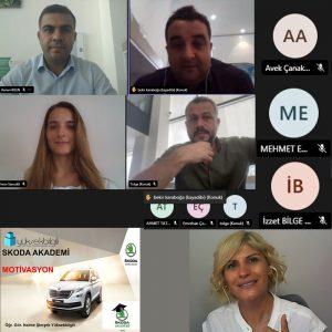 Skoda'da Motivasyon eğitimi (24.08.2021)