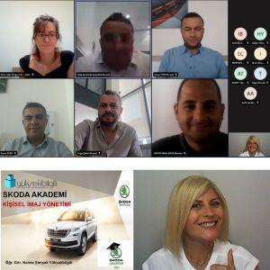 Skoda'da Kişisel İmaj Yönetimi eğitimi (26.08.2021)
