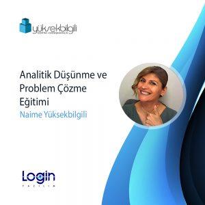 Login Yazılım'da Analitik Düşünme ve Problem Çözme eğitimi (17.09.2021)