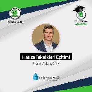 Skoda'da Hafıza Teknikleri eğitimi (16-17.09.2021)