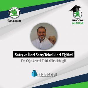 Skoda'da Satış ve İleri Satış Teknikleri eğitimi (20.09.2021)