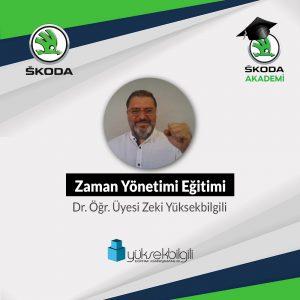 Skoda'da Zaman Yönetimi eğitimi (03.09.2021)